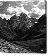Within The North Fork Of Cascade Canyon Acrylic Print