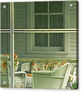 Within The Screened Porch Acrylic Print