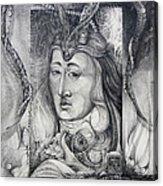 Wizard Of Bogomil's Island - The Fomorii Conjurer Acrylic Print