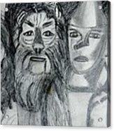 Wizard Of Oz Friends Acrylic Print