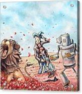 Wizard Of Oz - Poppy Field Acrylic Print