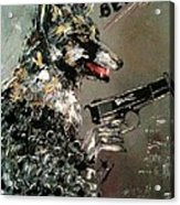 Wolf In Sheep's Clothing Acrylic Print