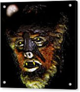 Wolf Man Original Work One Acrylic Print