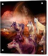 Wolf Mountain Acrylic Print