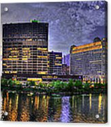 Wolf Point Panorama Acrylic Print