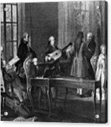 Wolfgang Amadeus Mozart (1756-1791) Acrylic Print