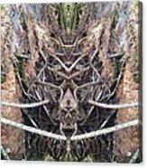Wolfhound Acrylic Print