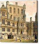 Wollaton Hall, Nottinghamshire, 1600 Acrylic Print