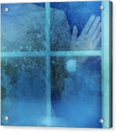 Woman At A Window Acrylic Print