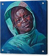 Woman From Darfur Acrylic Print