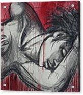 Woman In Love 2 - Female Nude Acrylic Print