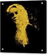 Woman In The Dark Acrylic Print