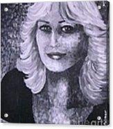 Woman Portreit Acrylic Print