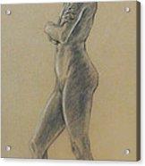 Woman Standing Acrylic Print