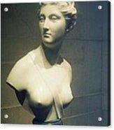 Womans Bust Acrylic Print
