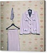 Woman's Clothes Acrylic Print by Joana Kruse