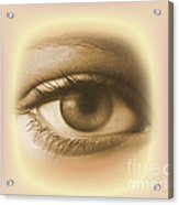 Womans Eye Acrylic Print