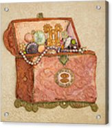 Womans Treasures Acrylic Print