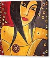 Women 0448 Marucii Acrylic Print