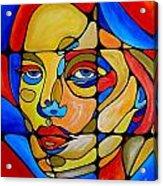 Women 450-09-13 Acrylic Print