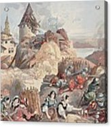Women At The Siege Of Marseille Acrylic Print