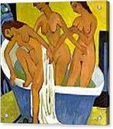 Women Bathing Acrylic Print