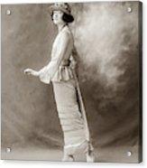 Women's Fashion, C1910 Acrylic Print