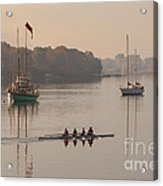 Women's Four And More On The Chester River Acrylic Print