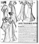 Women's Wear, 1902 Acrylic Print