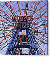 Wonder Wheel 2013 - Coney Island - Brooklyn - New York Acrylic Print
