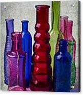 Wonderful Glass Bottles Acrylic Print