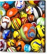Wonderful Marbles Acrylic Print