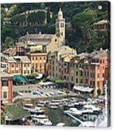 Wonderful Portofino Acrylic Print
