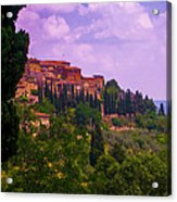 Wonderful Tuscany Acrylic Print