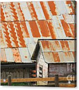 Wonderfully Weathered Acrylic Print