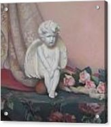 Wondering Cupid Acrylic Print