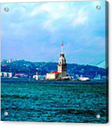 Wonders Of Istanbul Acrylic Print