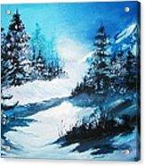 Wonders Of Winter Acrylic Print