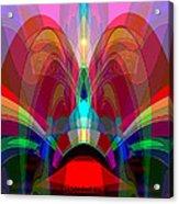 612 - Wondrous Machine Outburst  Acrylic Print