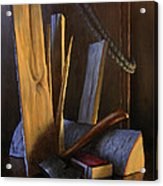 Wood Box Acrylic Print by Timothy Jones