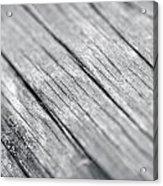Wood Acrylic Print