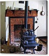 Wood Burning Stove Acrylic Print