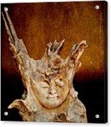 Wood Carving Acrylic Print