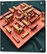 Wood Construction #1 Acrylic Print