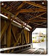 Wood Fame Bridge Acrylic Print