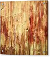 Wood Panels Acrylic Print
