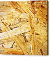 Wood Splinters Background Acrylic Print