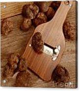 Wood Truffle Slicer Acrylic Print