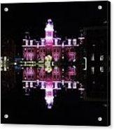 Woodburn Hall Reflection Acrylic Print