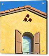 Woodbury Windows No 1 Acrylic Print